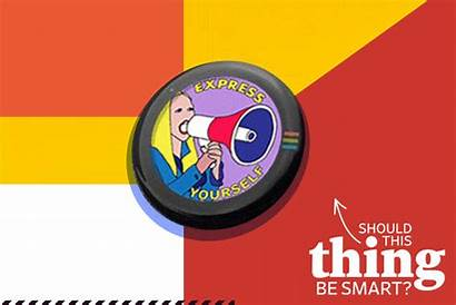 Button Smart Reason Authentic Should