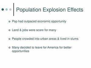 information about population explosion
