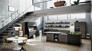 Urban Design Möbel : siematic urban moderne offene wohnk che mit gro er kochinsel im loft k che pinterest ~ Eleganceandgraceweddings.com Haus und Dekorationen