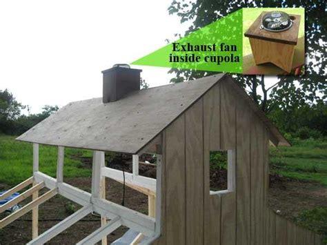 chicken coop ventilation fans bama 39 s chicken coop backyard chickens community