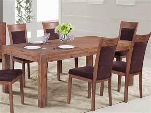 Table à Manger Bois Et Métal : table manger oakland 8 couverts bois et m tal merisier ~ Teatrodelosmanantiales.com Idées de Décoration