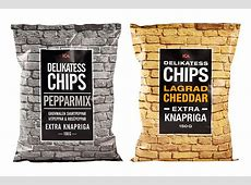 30 Inspiration For Attractive Chips Packaging Designs Blog