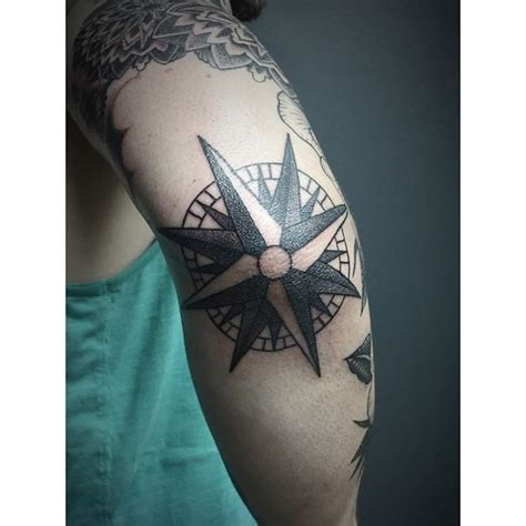 compass tattoo designs  meaning nautical compass