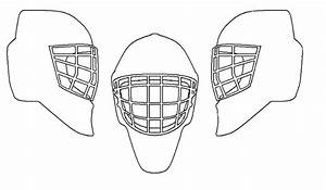 26 images of blank hockey goalie mask template kpoppedcom With bauer goalie mask template