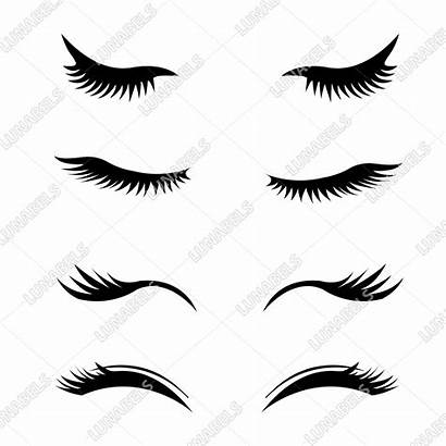 Eyelashes Clipart Svg Eyelash Makeup Lash Curler