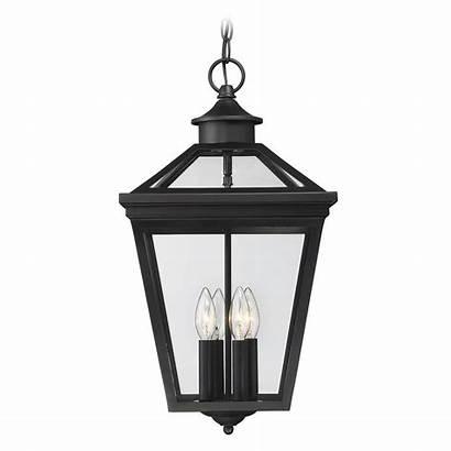Hanging Outdoor Pendant Savoy Lights Bk Lantern