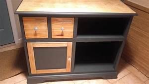 peinture meuble bois nestis With un meuble t l