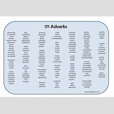 171 Adverbs Learning Mat By Erictviking  Teaching Resources Tes