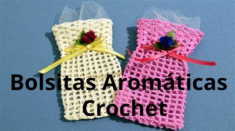 como hacer una esto la en crochet como hacer una bolsita aromatica en tejido crochet