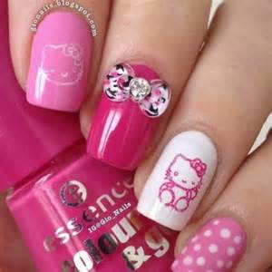 Best images about hello kitty nails on nail art designs and plate