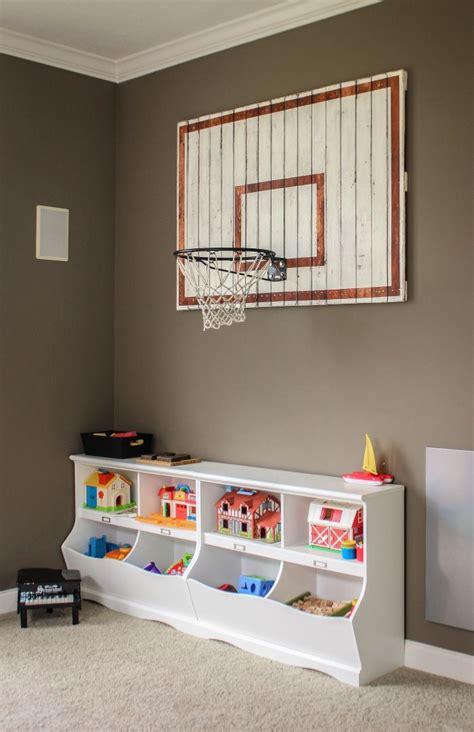 basketball hoop     boys room diy