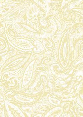 Cream Wedding Paisley Backing Paper CUP4719 Craftsuprint