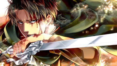 levi ackerman   hd attack  titan shingeki  kyojin