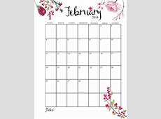 Month To Month Printable Calendar 2018 Latest Calendar