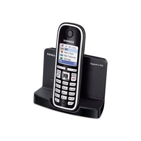 nuveostore siemens gigaset c470 t 233 l 233 phone sans fil dectgap mains libres noir
