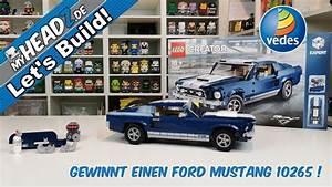 Let's Build! LEGO Creator Expert #10265 Ford Mustang & Gewinnspiel! - YouTube