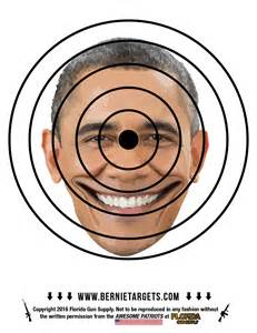 Printable Obama Targets for Shooting Practice