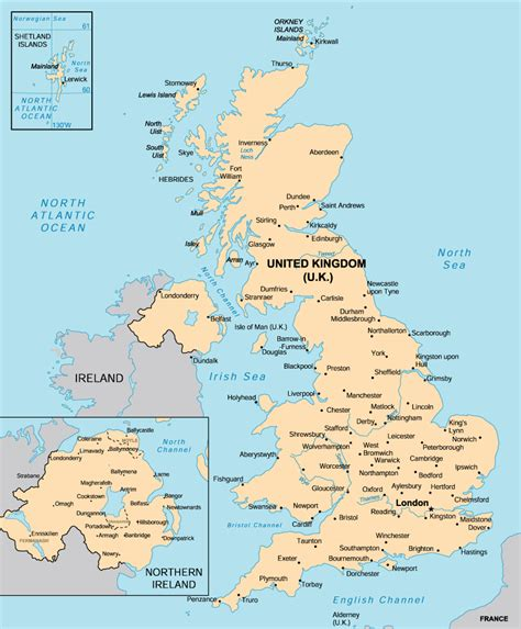 map  united kingdom travelsmapscom