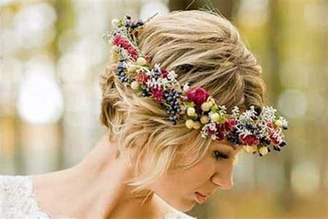 Peinados de novia con pelo corto: Tendencias 2016 FOTOS