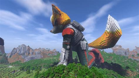 Minecraft Fox Mccloud Build