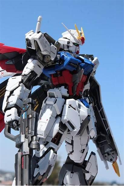 Aile Gundam Strike Mg Custom Build Rm