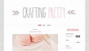 aleelily beauty and lifestyle blog headers and templates With free blogger header templates