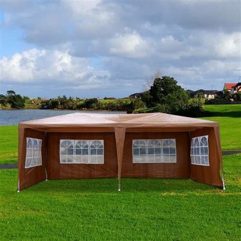 xft party tent gazebo canopy   removable walls coffee betel canada