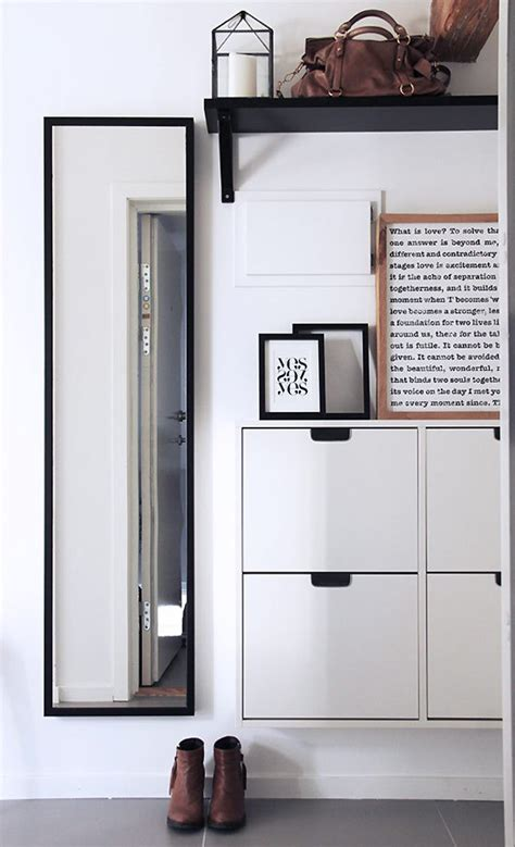 ikea entryway furniture 67 mudroom and hallway storage ideas shelterness