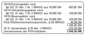 Pkh Abrechnung : richtige anwendung der brago volle geb hren trotz nur teilweiser pkh bewilligung ~ Themetempest.com Abrechnung