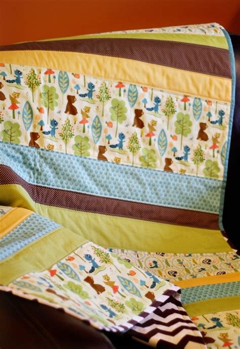 straight  baby quilt patterns favequiltscom