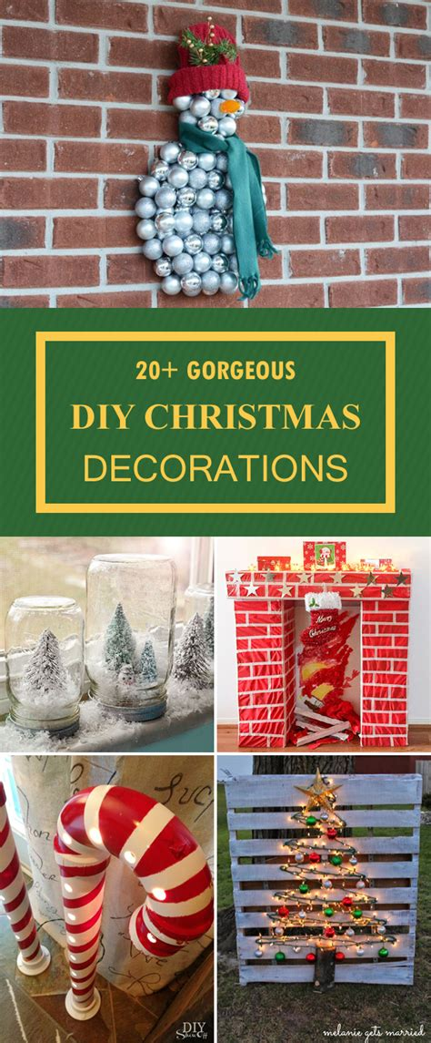20 gorgeous christmas decorations you can make yourself