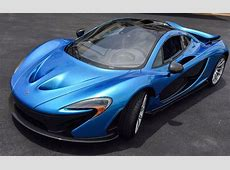Cerulean Blue McLaren P1 on Sale for $23 Million