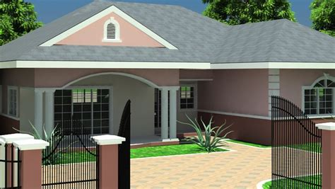 ghana house plans house plans  bedroom house plan  bedroom house plans