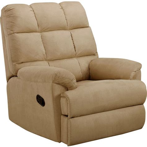 Recliner Rockers Chairs by Recliner Sofa Chair Microsuede Rocking Living Room