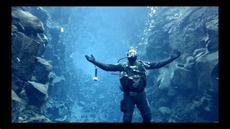 scuba diving  iceland silfra youtube