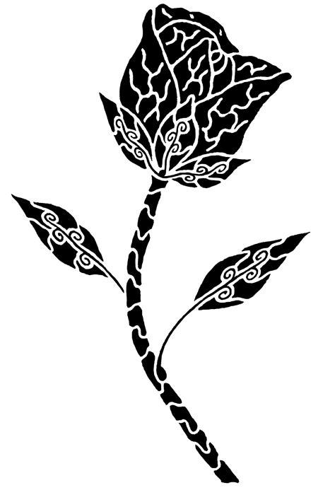 Tribal Rose Tattoo by BioBreed on Newgrounds