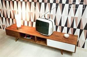 50er Jahre Möbel : tv m bel stockholm massivholz 50er jahre stil pib ~ Michelbontemps.com Haus und Dekorationen