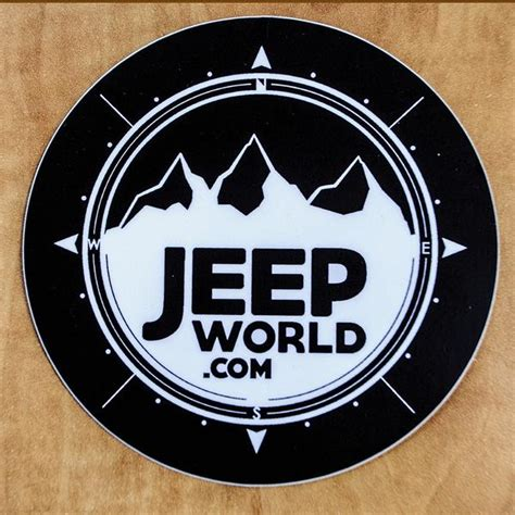 jeep beach decals jeepworld com 4x4 quot vinyl sticker black jeep world