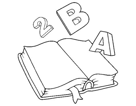 Animated book coloring page coloringcrew com
