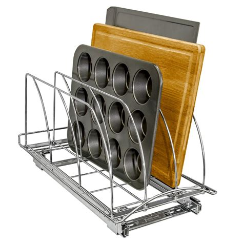 organizer cabinet pull bakeware tray lynk roll professional