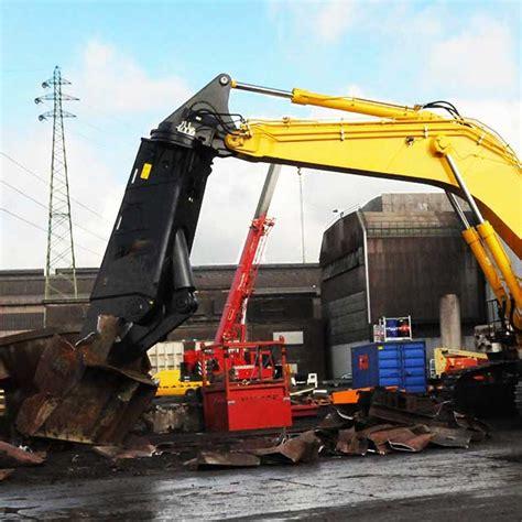 excavator scrap scissors  cutting metal sheets buy excavator shear excavator shear rental