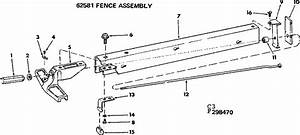 Looking For Craftsman Model 113299040 Table Saw Repair