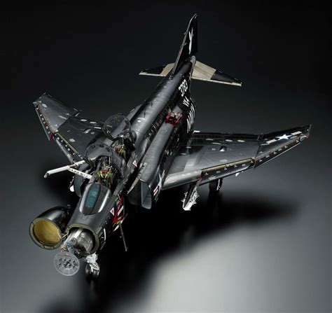 Sepecat Jaguar F4 Phantom Jet Fighter
