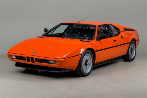 This Very Orange 1980 Bmw M1 Is Up For Sale For 5k