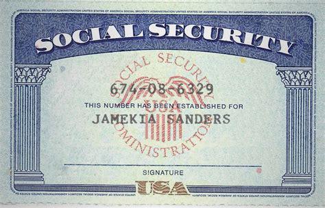 Make Novelty Social Security Card, Driver License Or