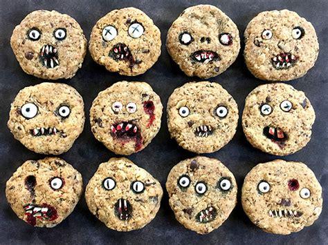bake halloween cookies    scary  eat