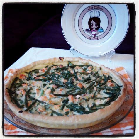 deserte de cuisine quiche au saumon estragon et haricots verts blogs de