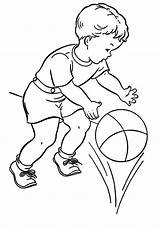 Sports Coloring Basketball Pages Printable Sheets Child Ball Playing Colouring Raisingourkids Clipart Basket Books Boy Drawing Coloringfolder Para Printing Library sketch template