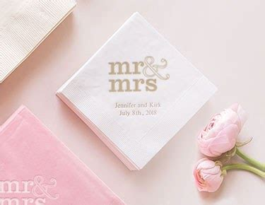 personalized paper napkins custom paper napkins