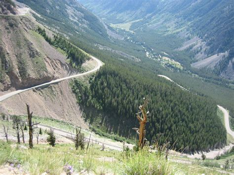 bear tooth pass cycling route